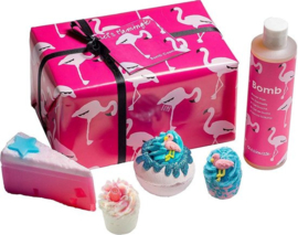 Bomb Cosmetics - Let's Flamingle Gift Pack