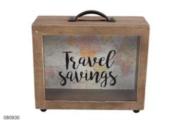 "Spaarkoffer ""Travel savings"""
