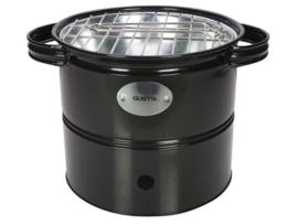 Gusta - Mini BBQ Barrel zwart