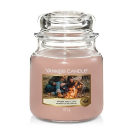 Yankee Candle - Warm and cosy Medium