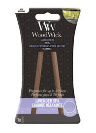 Woodwick Auto Reeds Refill - Lavender Spa
