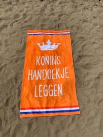 Texy Towel Strandlaken - Koning handdoekje leggen