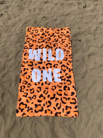 Texy Towel Strandlaken - Wild one