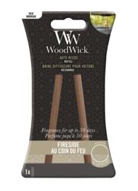 Woodwick Auto Reeds Refill - Fireside