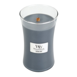 Woodwick Large Candle - Evening Onyx