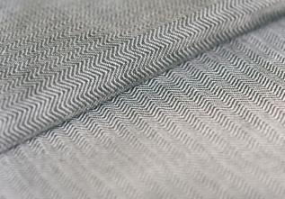 Grey Herringbone maat 7