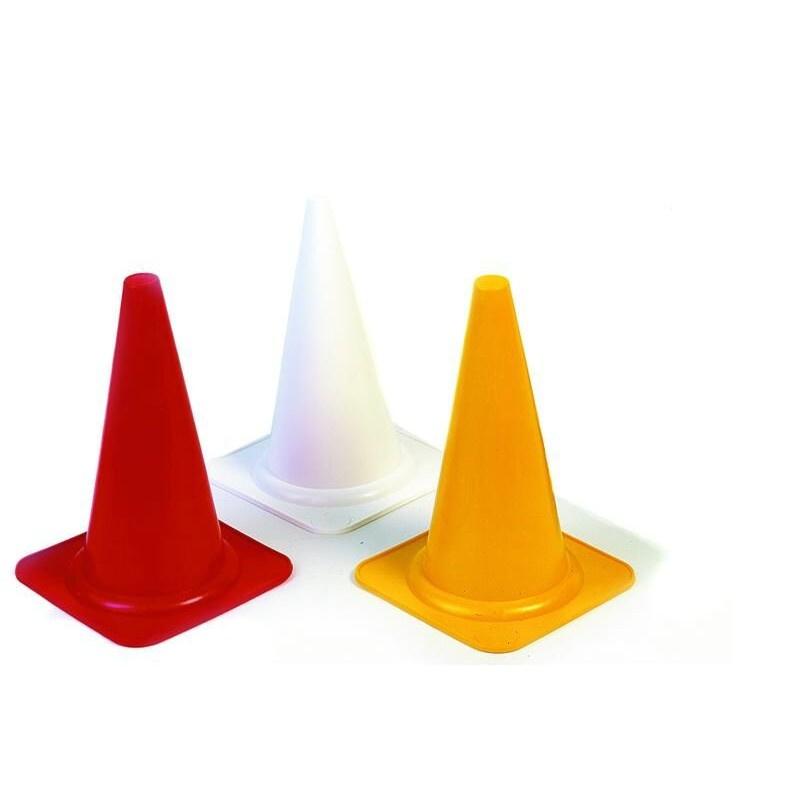 Gekleurde markeringskegels / Pylonnen - Set 18 stuks