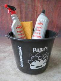 papa's autowasemmer (gevuld)