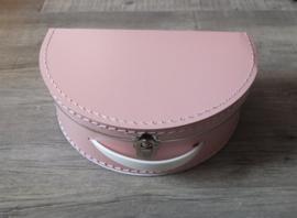 Kinderkoffertje roze