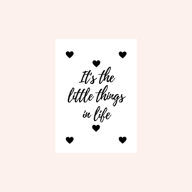 Ansichtkaart | It's the little things in life