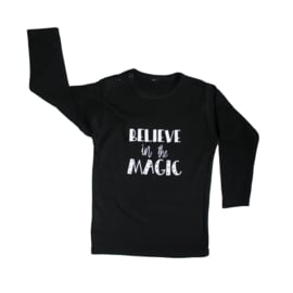 Baby- en kindershirt | Believe in the magic