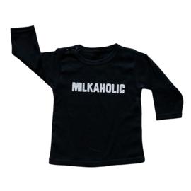 Baby- en kindershirt | Milkaholic