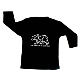 Baby- en kindershirt | I'm going on a bear hunt