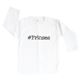 Baby- en kindershirt | #Prinses