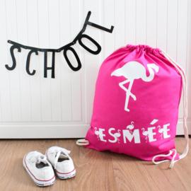 Gymtas | Flamingo