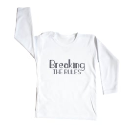 Baby- en kindershirt | Breaking the rules