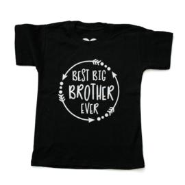 Baby- en kindershirt | Best big brother ever