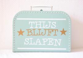 Kinderkoffertje | Blijft slapen