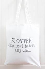 Shopper | Shoppen daar word je toch blij van....