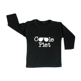 Baby- en kindershirt | Coole Piet