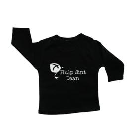 Baby- en kindershirt | Hulp Sint met naam