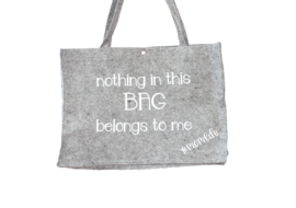 Vilten tas | Nothing in this bag belongs to me