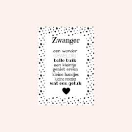 Ansichtkaart | Zwanger