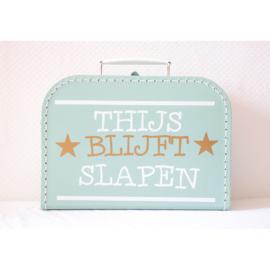 Kindekoffertje | Blijft slapen