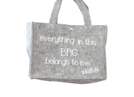 Vilten tas | Everything in this bag belongs to me