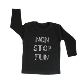 Baby- en kindershirt | Non stop fun
