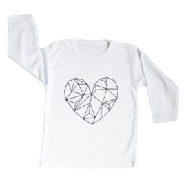 Baby- en kindershirt | Heart