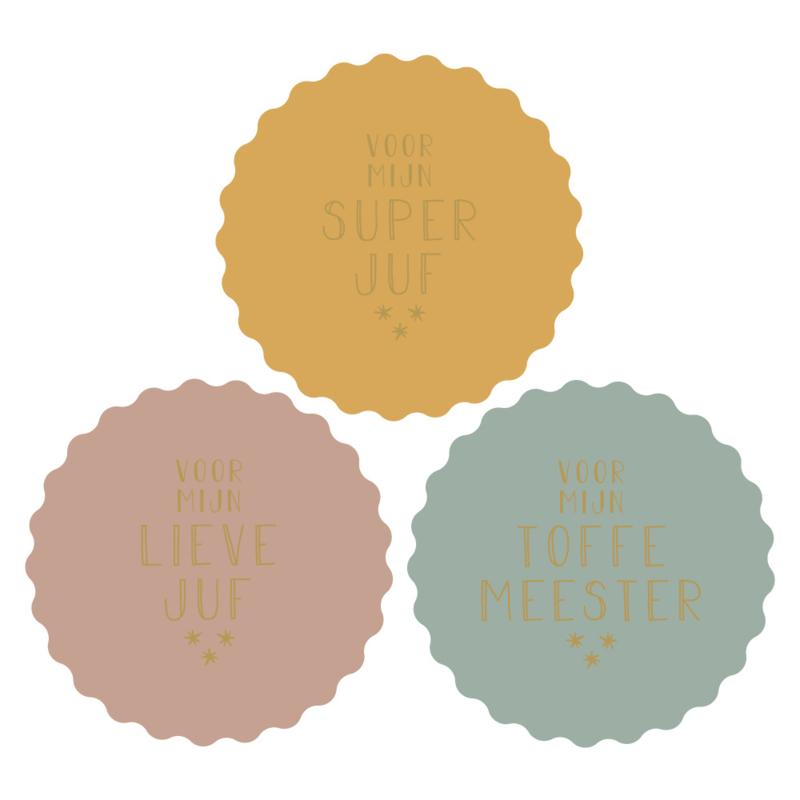 Stickers | Juf en meester