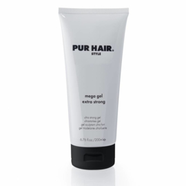 Mega Gel Extra Strong (200ml) | PUR HAIR ® Style