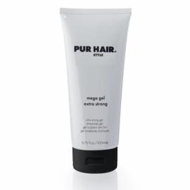 Mega Gel Extra Strong (200ml) | PUR HAIR ® Style