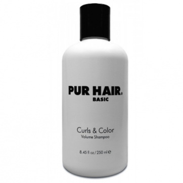 Curls & Color Volume Shampoo (250ml) | PUR HAIR ® Basic