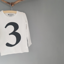 Cijfer Shirt 3 98/104