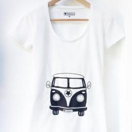 Dames t-shirt Volkswagenbusje