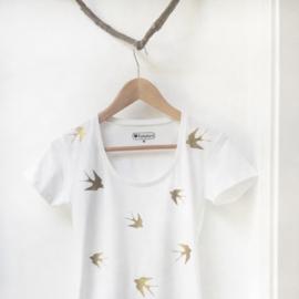 Dames t-shirt Zwaluwen