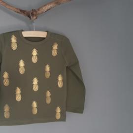 Ananasshirt 74/80