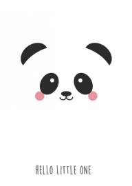Kaart Panda Hello Little One