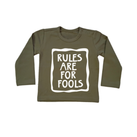 Baby/Kids Shirt Rules are for FOOLS