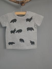 Shirt Hippo's maat 50/56