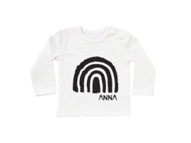 Baby/Kids Shirt  Rainbow & Name