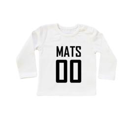 Baby/Kids Shirt NAAM & NUMMER