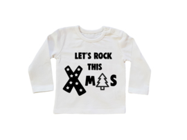 Baby/Kids Shirt Let ROCK this XMAS