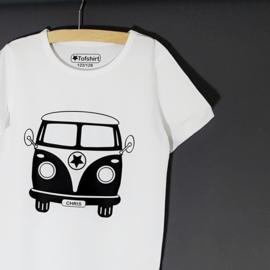 Baby/Kids Naam Shirt Volkswagenbusje