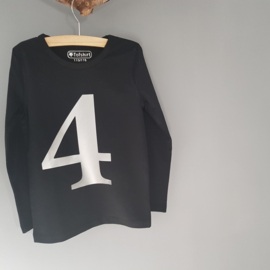 Cijfer Shirt 4 110/116