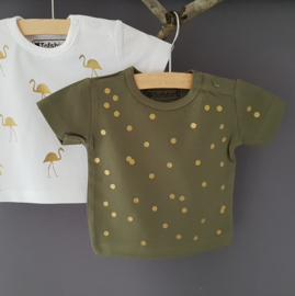 Baby/Kids Shirt little flamingo's