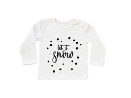 Baby/Kids Shirt Let It Snow