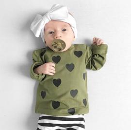 Baby/Kids Shirt Hartjes